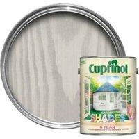 Cuprinol Garden Shades Pale Jasmine Matt Wood Paint 5L