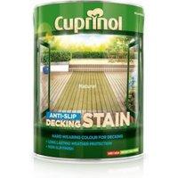Cuprinol Natural Matt Anti Slip Decking stain 5L