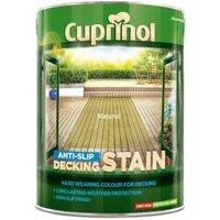 Cuprinol Natural Matt Slip resistant Decking Wood stain  5L