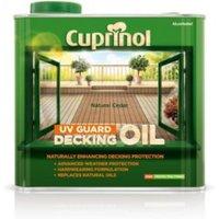 Cuprinol UV guard Natural cedar Matt Decking oil & protector 2.5L