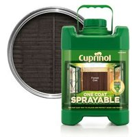 'Cuprinol One Coat Sprayable Forest Oak Wood Paint  5l