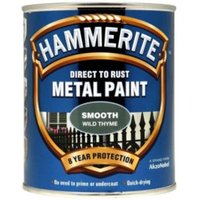 Hammerite Wild Thyme Gloss Metal Paint 750 ml