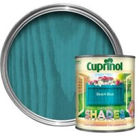 Cuprinol Garden Shades Beach blue Matt Wood paint 1L