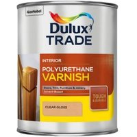 Dulux Trade Clear Gloss Varnish 1000ml Tin