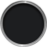 Dulux Trade Black High gloss Wood & metal paint 1L