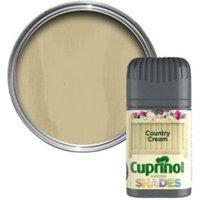 Cuprinol Garden Shades Country cream Matt Wood paint 0.05L