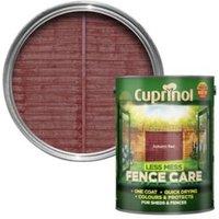 Cuprinol Less Mess Fence Care Autumn Red Matt Shed & Fence Treatment 5L