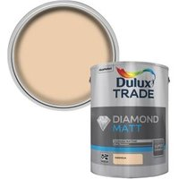 Dulux Trade Diamond Magnolia Matt Emulsion paint 5L