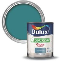 Dulux Proud peacock Gloss Wood & metal paint 0.75L