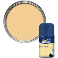 Dulux Butter Biscuit Matt Paint 0.05L Tester Pot