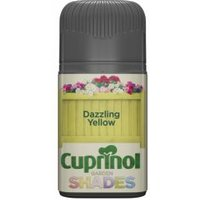 Cuprinol Garden Shades Dazzling yellow Matt Wood paint 0.05L