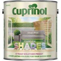 Cuprinol Garden Shades Silver birch Matt Garden wood paint 2.5L