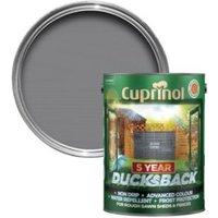 Cuprinol 5 Year Ducksback Silver Copse Matt Shed & Fence Care 9L