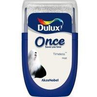 Dulux Once Timeless Matt Emulsion Paint 0.03 L Tester Pot