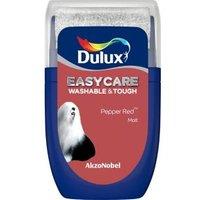 'Dulux Easycare Pepper Red Matt Emulsion Paint  0.03l Tester Pot