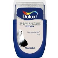 'Dulux Easycare Nutmeg White Matt Emulsion Paint 0.03l Tester Pot