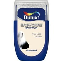 'Dulux Easycare Ivory Lace Soft Sheen Emulsion Paint 0.03l Tester Pot