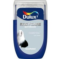 'Dulux Easycare Coastal Grey Soft Sheen Emulsion Paint 0.03l Tester Pot