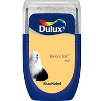 Dulux Standard Banana split Matt Emulsion paint 0.03L Tester pot