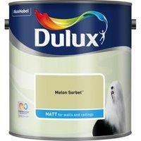 Dulux Standard Melon sorbet Matt Emulsion paint 2.5L