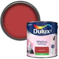 'Dulux Pepper Red Silk Emulsion Paint  2.5l