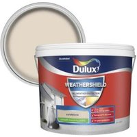 Dulux Weathershield Sandstone Smooth Matt Masonry paint 10L