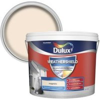Dulux Weathershield Magnolia Textured Matt Masonry paint 10L