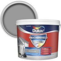 Dulux Weathershield Concrete grey Textured Matt Masonry pain