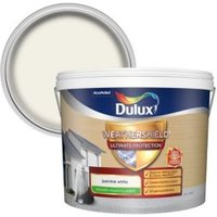 Dulux Weathershield ultimate protection Jasmine white Smooth