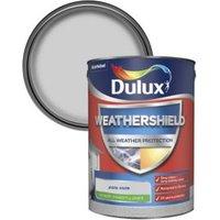 Dulux Weathershield Pale slate Smooth Matt Masonry paint 5L