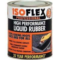 Isoflex Black Roofing waterproofer 0.75L Tin