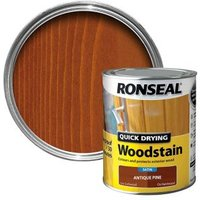 Ronseal Antique pine Satin Wood stain 0.75