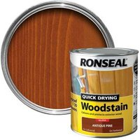 Ronseal Antique pine Gloss Wood stain 0.75L