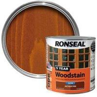 Ronseal Antique pine High satin sheen Wood stain 2.5