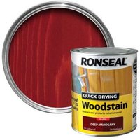 Ronseal Deep mahogany Gloss Woodstain 0.75L
