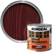 Ronseal Rosewood High Satin Sheen Woodstain 0.25L