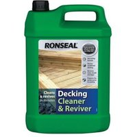 Ronseal Clear Decking cleaner & reviver 5L