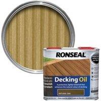 Ronseal Natural oak Matt Decking oil 2.5L