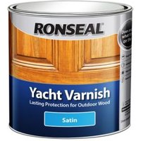 Ronseal Clear Satin Yacht varnish 2.5L