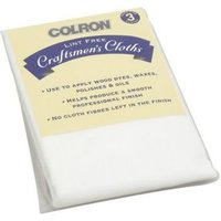 Colron Cotton Lint free cloth Pack of 3