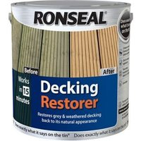 Ronseal Clear Decking restorer 2.5L