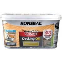 Ronseal Perfect finish Natural Decking oil 2.5L