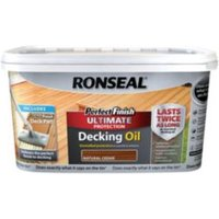 Ronseal Perfect finish Natural cedar Decking oil 2.5L