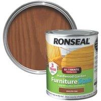 Ronseal Hardwood English oak Hardwood garden furniture stain 0.75L
