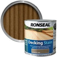 Ronseal Country oak Matt Decking Wood stain  5L