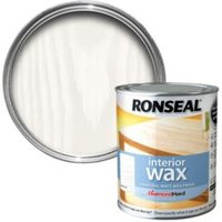 Ronseal Interior diamond hard White ash Matt Wood wax 0.75L