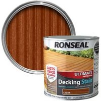 Ronseal Ultimate Cedar Matt Decking Wood stain  2.5L