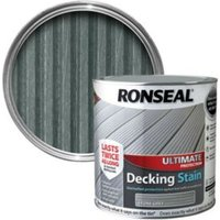 Ronseal Ultimate Stone Grey Matt Decking Stain 2.5L