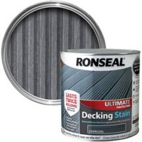 Ronseal Ultimate Charcoal Matt Decking Stain 2.5L