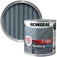 Ronseal Ultimate Slate Matt Decking Stain 2.5L